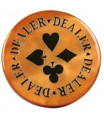 Dealer Button Gold