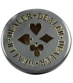 Dealer Button Silver